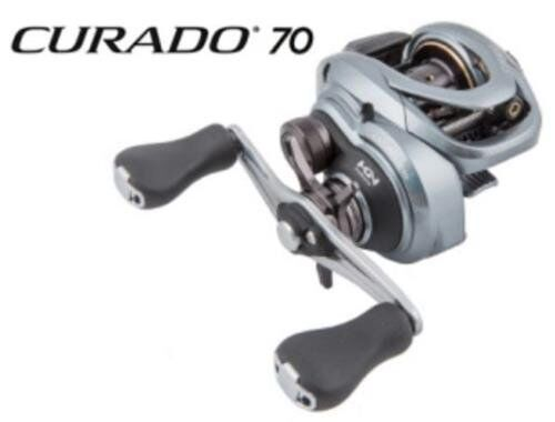 Shimano Curado 70 High Gear Right Hand CU-70HG Baitcasting Reel 7.2: 1 Ratio