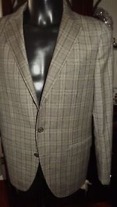 Caruso-Parma-Sartoriale-Handgefertigt-Wolle-50-1022-00-Flanell-Quadricaruso