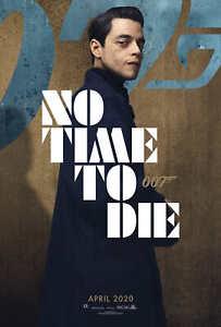 32x48 27x40 24x36 Poster Rami Malek 007 No Time to Die 2020 Movie K369