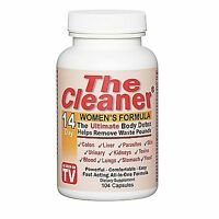 Century Systems The Cleaner 14 Day Women's Formula - 104 Capsules