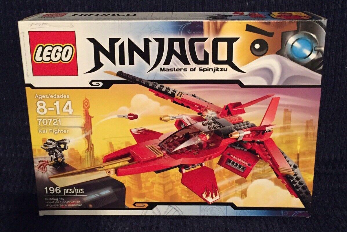 LEGO Ninjago 70721 - Kai Fighter Fire Jet Nindroid *NIB*