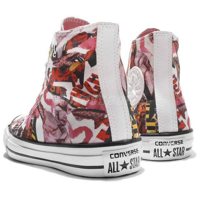 0b531408383cd1 Converse Chuck Taylor All Star Print Rose Floral Women Classic Shoes ...