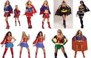 Detalles De Bat Girl Super Chica Mujer Maravilla Damas Vestido Elaborado Disfraz Cosplay De Cómic Ver Título Original