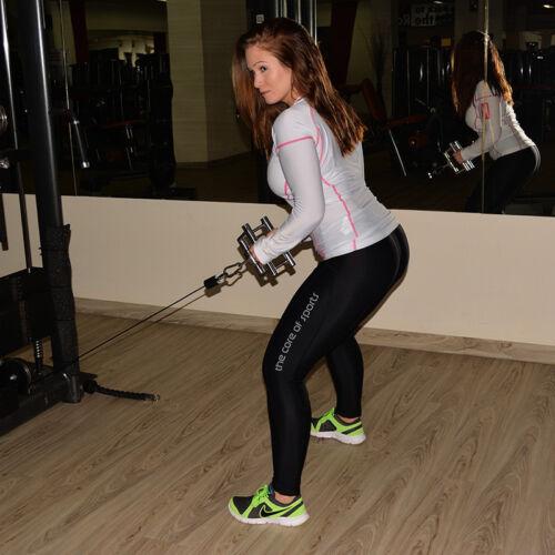 Damen Leggings Sportleggings für Frauen Laufleggings Fitness Yoga Sporthose Gym