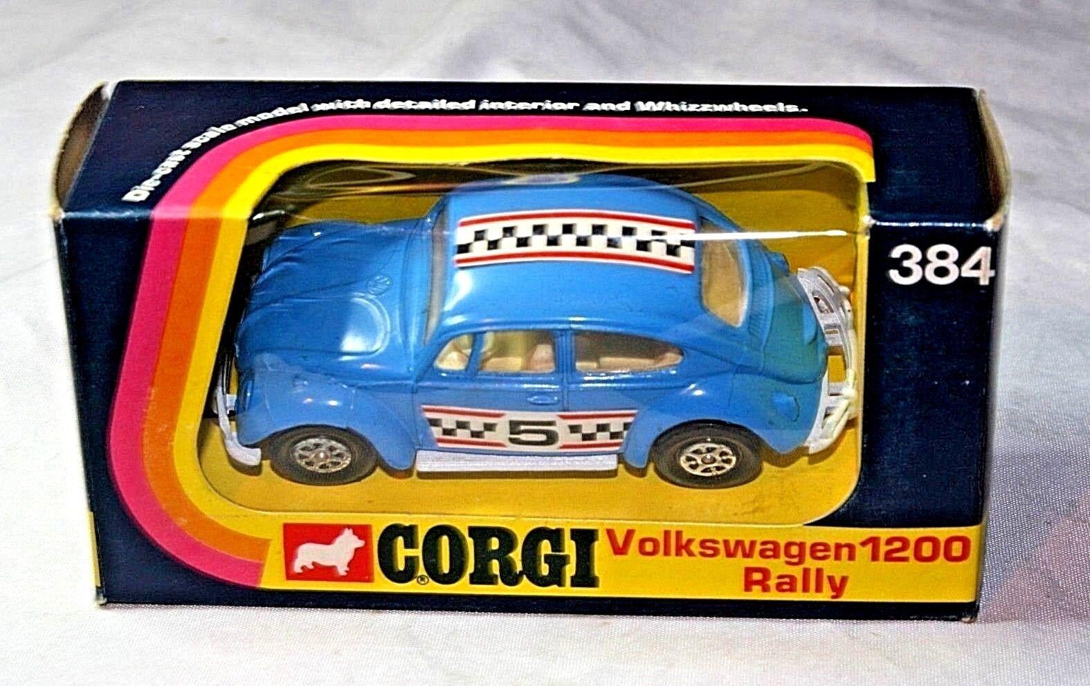 CORGI  384 VW RALLY 1200 Rally, come Nuovo in Scatola Originale Nuovo di zecca