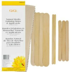 GiGi-Natural-Muslin-Epilating-Strips-amp-Applicators-For-All-Soft-Waxes-Honee