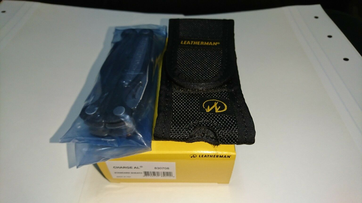 Leatherman Charge AL  New In Box With Nylon  Sheath.  get the latest