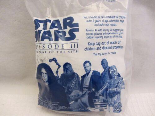 416DJ13 Star Wars Burger King Revenge of the Sith Episode III Choose One