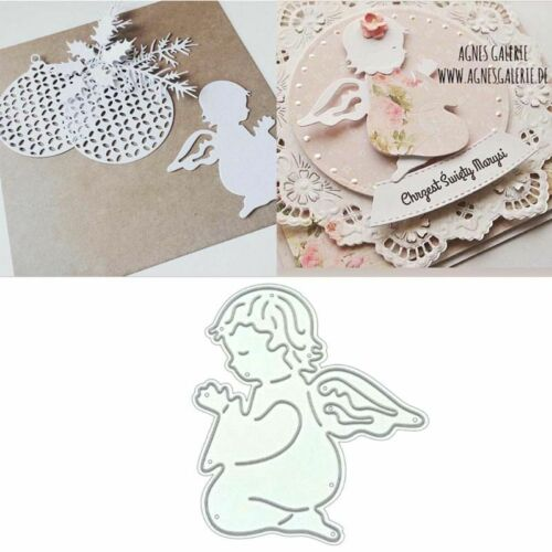 Angel DIY Metal Cutting Dies Stencil Scrapbooking Photo Album Stamp Paper Card