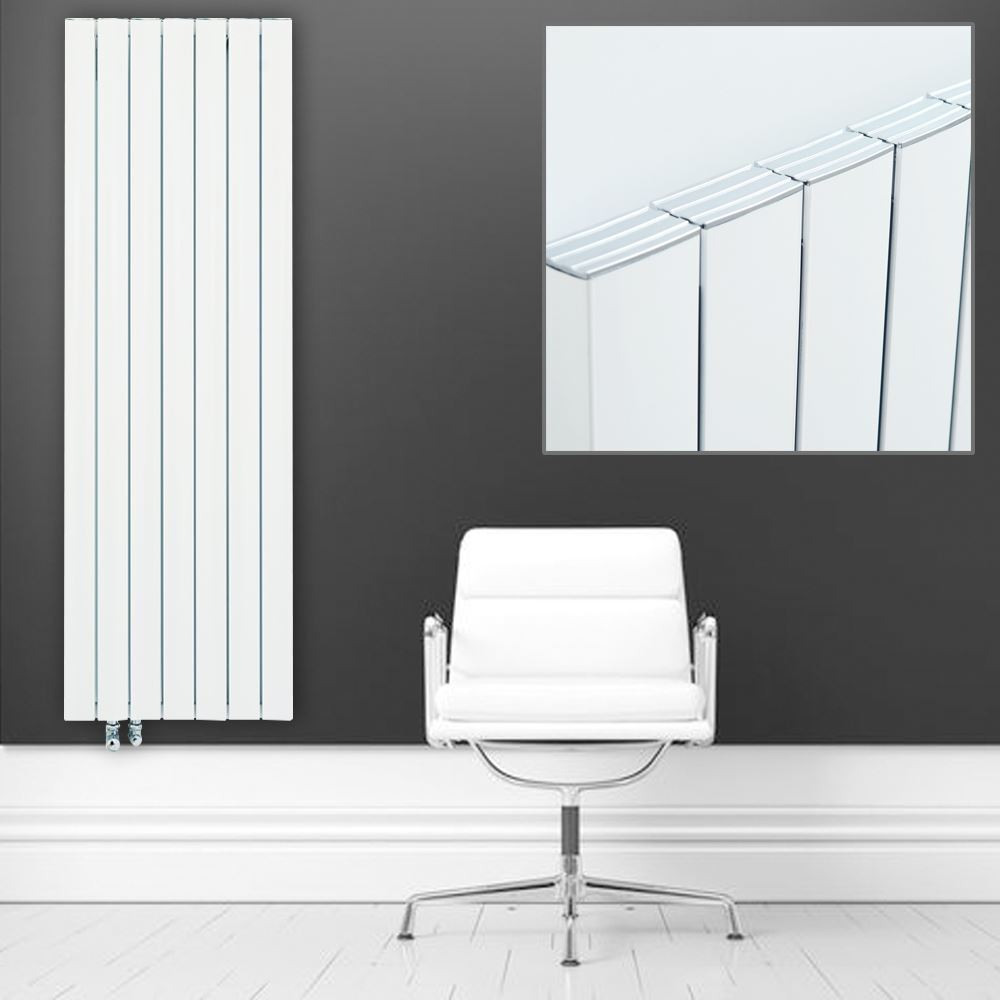 Ultraheat  SMYRNA  Weiß Double Aluminium Grünical Designer Radiators HIGH BTUs