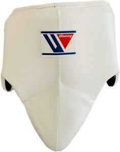 Winning Boxing Groin Cup Protector White Size M Standard Type CPS-500 w//Tracking