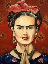 "MX06136 Frida Kahlo - 1907- 1954 Self–Taught Self Portraits Art 14""x19"" Poster"