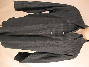 Ermenegildo-Zegna-Mens-Charcoal-Check-Long-Sleeve-Cotton-Shirt-2XB