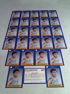*****David Greenwood***** Lot of 39 cards.....2 DIFFERENT / UCLA