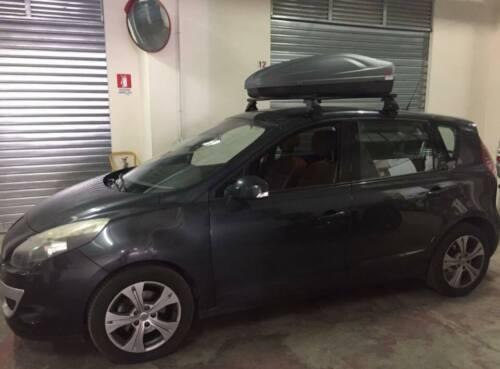 BOX AUTO BAULE DA TETTO G3 ALL TIME 320 DA RAICAR G3 POINT ITALIA