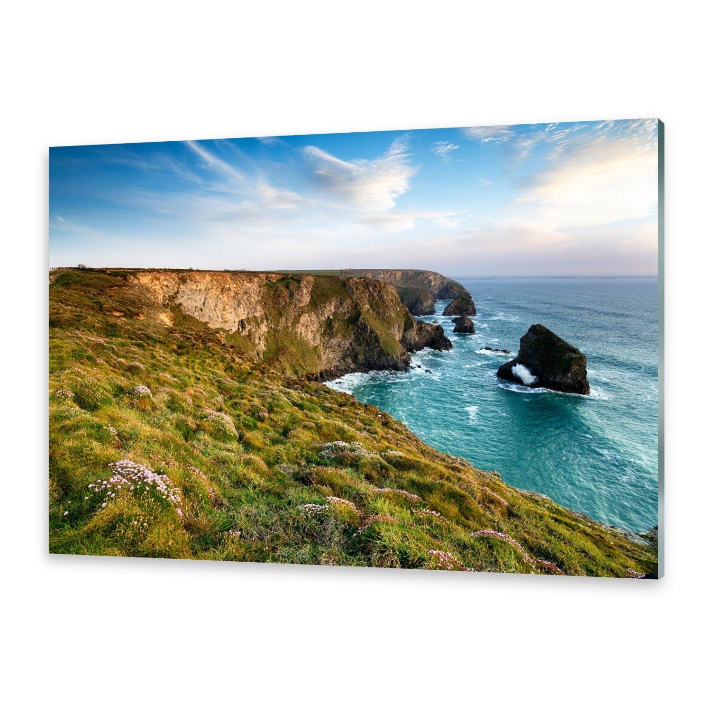 Acrylglasbilder Wandbild aus Plexiglas® Bild Klippe Meer