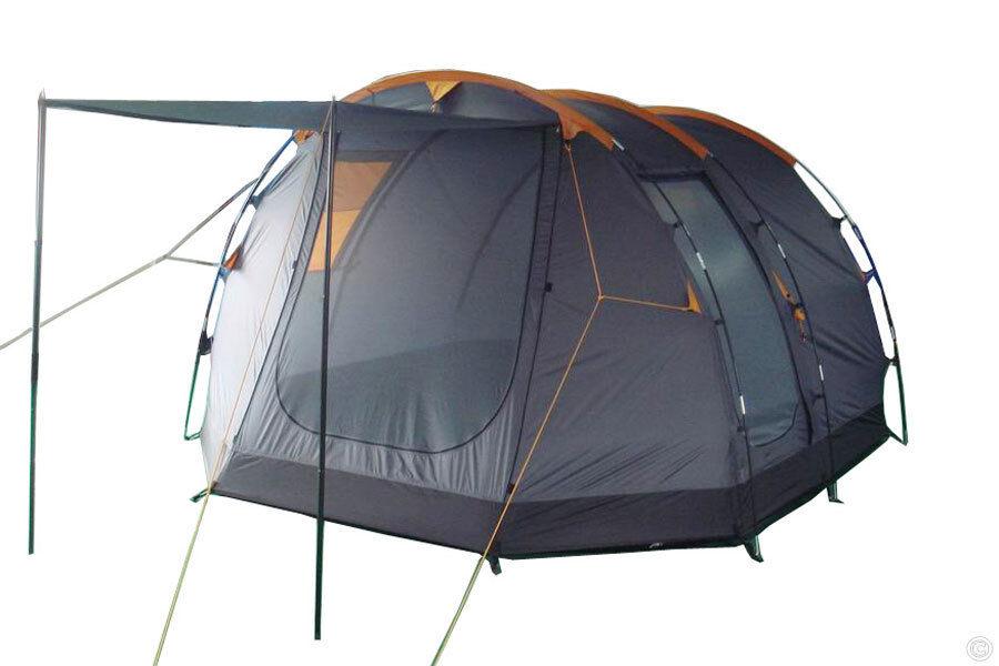 SAXUR York Tenda Famiglia Tenda da campeggio Tenda 5 persone NUOVO  5000mm