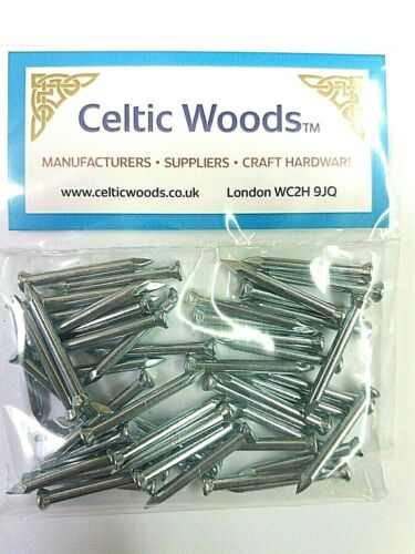 Pack of 50 Masonry Nails 2.5 x 25 mm Extra Strong Heat Treated