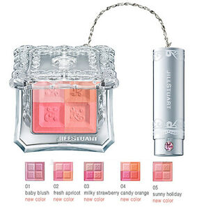 Jill-Stuart-Japan-Makeup-Mix-Blush-Compact-N-Cheek-Color-Palette-New