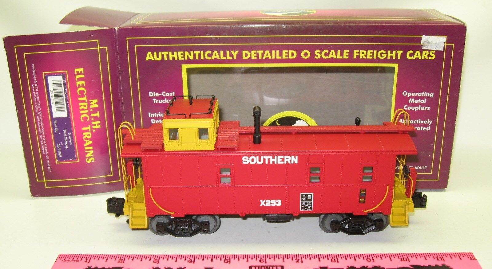 MTH 20-91025 Southern Steel Caboose