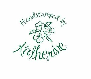 UNMOUNTED-PERSONALIZED-039-HANDSTAMPED-BY-039-RUBBER-STAMPS-H67