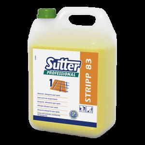 STRIPP 83 Detergente decerante super rapido 5 Kg. 0382300 SUTTER PROFESSIONAL