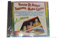 Vinicius De Moraes Toquinho Maria Creuza Baile Latino A Felicidade CD 1995 Telma