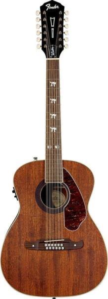 fender tim armstrong hellcat 12 string acoustic electric guitar for sale online ebay. Black Bedroom Furniture Sets. Home Design Ideas