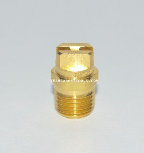 """Carpet Cleaning Wand Replacement Brass 1//4/"""" V-Jets 11002 Vee Jets 4 count"""