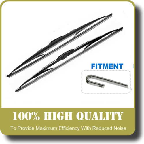 BMW 5 SERIES,Wiper Blades Front Set Fits To Car Reg 1988 TO 1997