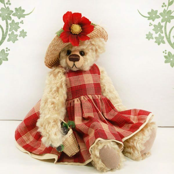 Lizzy by Timeless Expressions for Cooperstown Artist Bear Collection