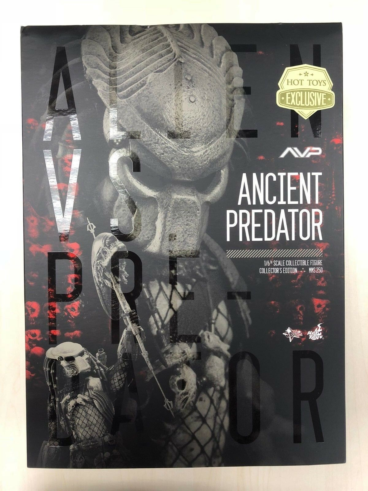 Hot Toys MMS 250 Alien vs Prougeator prédateurs 2 ALIEN VS ProugeATOR Ancient Prougeator 2.0 NEUF