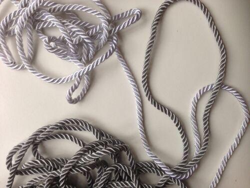 5 mm intrecciato treccia soutache Intrecciato Corda Corda Cordoncino Cuscino bordatura 1//3//5 iarde