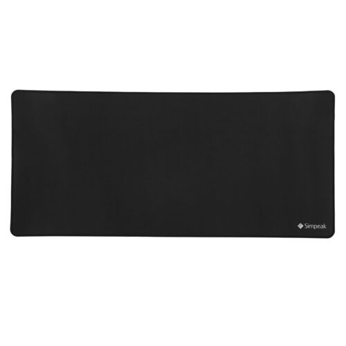 60CM x 30CM Rubber Speed Gaming Mouse Pad Black Simpeak Large XL PC Mouse Pad