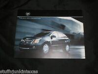 2011 Cadillac Srx Crossover Catalog