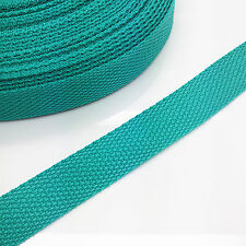 New 5 yards Length 3/4 Inch Width(20mm) Nylon Webbing Strapping Light green