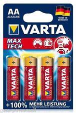 32 x VARTA MAX TECH AA Maxtech Mignon 1,5V MN1500 LR06 4706 Batterie Kamera
