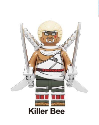 Killer Bee MINIFIGURE ANIME MANGA NARUTO SASUKE LEGo Moc MR GOLD C3P0