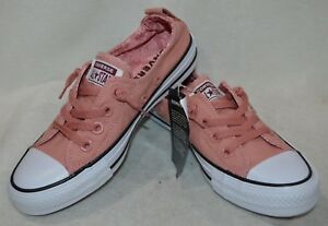 0ff96727a91609 Converse Women s CT AS Shoreline Rust Pink White Blk Slip On Sneaker ...