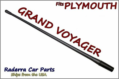 """1997-2000 Plymouth Grand Voyager 13/"""" SHORT Flexible Rubber Antenna Mast FITS"""