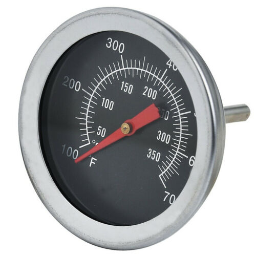 BBQ Pit Raucher Grill Thermometer GAUGE Temp Outdoor Camping Zub Grill-Koch E1C8