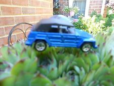 Hot Wheels Volkswagen Type 181 Dark Blue with Black Top 100% Paint