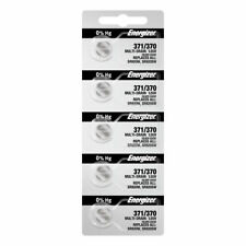 Energizer 371/370 Button Cell Silver Oxide 5 Watch Batteries - SR920SW