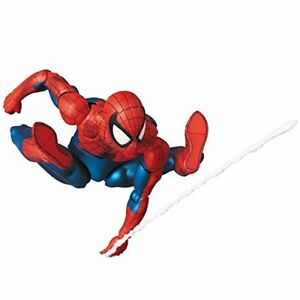 Spider-Man-Action-Figure-Comic-Version-Authentic-Mafex-No-075-From-Japan-New