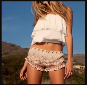 Spell & the Gypsy The Daisy Chain Barbarella Shorts Large