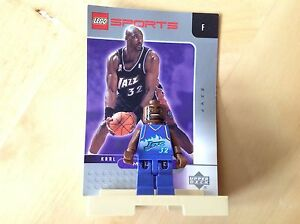 Pre-Owned-Lego-Sports-Minifigures-And-Card-W-Stand-Karl-Malone-Jazz