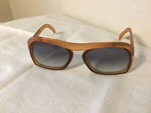 Rare-Vintage-Christian-Dior-OPTYL-2043-Bridgeless-Space-Age-Sunglasses-Germany
