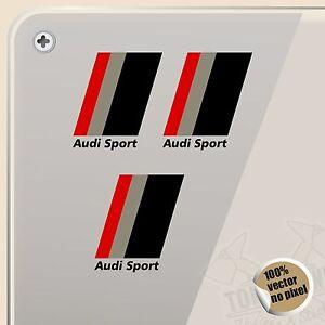sticker kit audi sport flag flag vinyl sticker decal. Black Bedroom Furniture Sets. Home Design Ideas