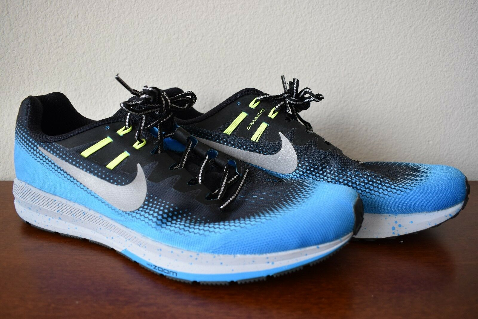 MEN'S NIKE ZOOM STRUCTURE 20 - NEEDS INSOLES - DYNAMIC FIT - H20 REPEL - SIZE 15