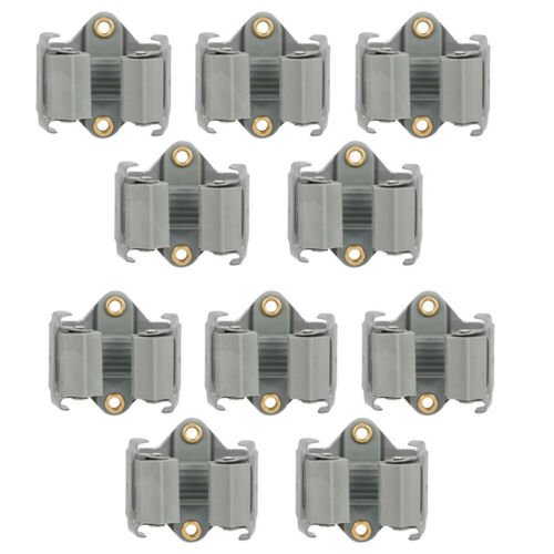 5-25X Gerätehalter Stahl Gartengeräte Wandhalter Geräteleiste versch Besenhalter